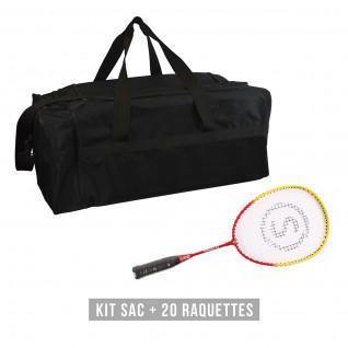 Kit de raquetas (bolsa + 20 raquetas) niño Sporti France School 53