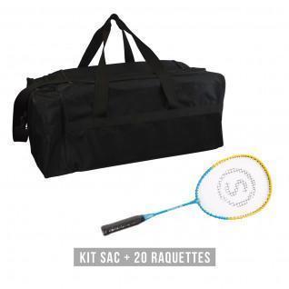 Kit de raquetas (bolsa + 20 raquetas) niño Sporti France School 58