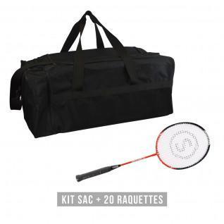 Kit de raquetas (bolsa + 20 raquetas) niño Sporti France  Discovery 61