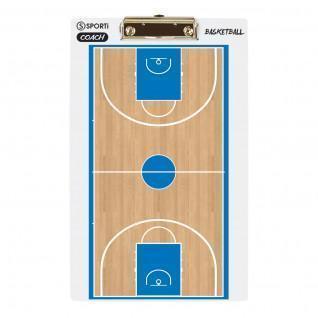 Folleto de entrenador de baloncesto 3d Sporti France