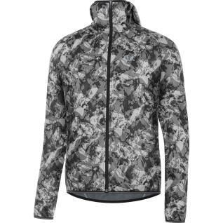Chaqueta con capucha Gore R3 Windstopper® Camo