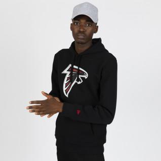 Sudadera con capucha New Era con el logotipo del equipo Arizona Cardinals
