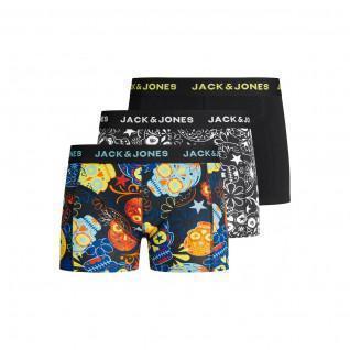 Paquete de 3 niños boxeadores Jack & Jones Jacdenim
