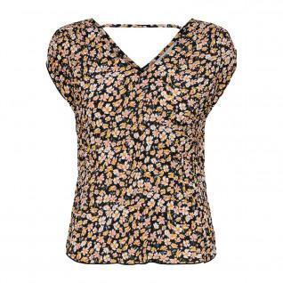 Camiseta de mujer Only onlfuchsia plisse wovens