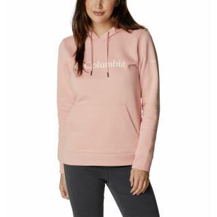 Sudadera con capucha Columbia Logo para mujer
