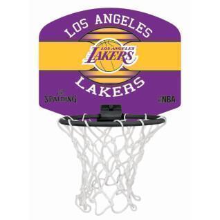 Mini canasta Spalding Los Angeles Lakers