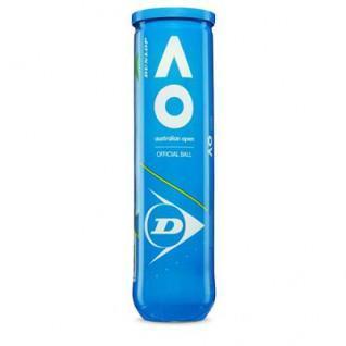 Pelotas de tenis Dunlop Australian Open 4 pedo