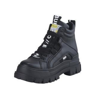 Zapatos de mujer Buffalo Aspha NC MID Lace Up vegano