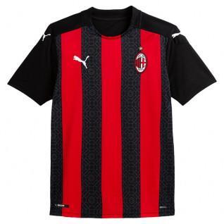 Camiseta de casa del AC Milan 2020/21 para niños