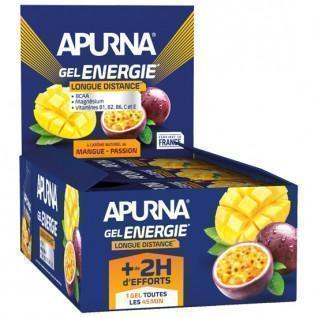 Paquete de 24 geles Apurna Energy Passion Mango - 35g