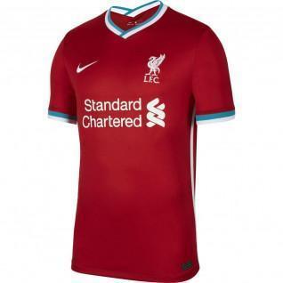 Camiseta de casa del Liverpool 2020/21 para niños