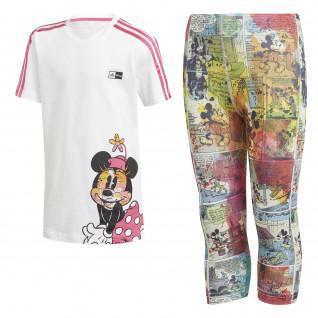 Set infantil adidas Minnie Mouse para el verano