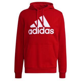 Sudadera con capucha adidas Essentials Fleece Big Logo