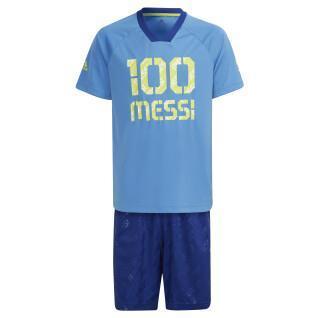 Juego de niños adidas Messi Football-Inspired Summer Set