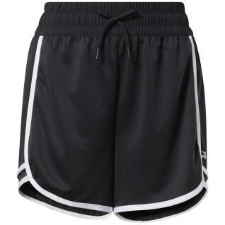 Pantalones cortos de cintura alta para mujer Reebok Workout Ready