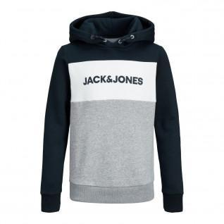 Sudadera de niño Jack & Jones JJelogo de bloqueo