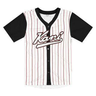 Camiseta Karl Kani Varsity Block Pinstripe Baseball