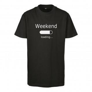 Camiseta para niños Urban Classics weekend loading 2.0