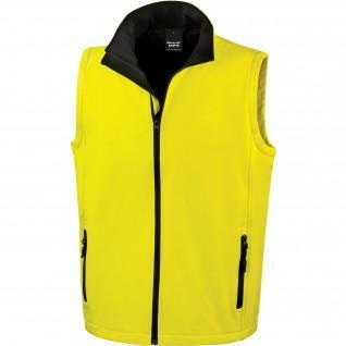 Chaleco Result Result Softshell Imprimible