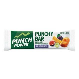 Muestra 40 barras de energía Punch Power Punchybar Multifruit
