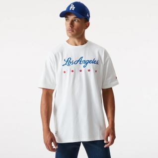 Camiseta New era Los Angeles Dodgers heritage oversize