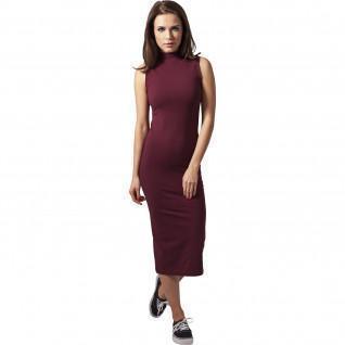 Vestido de turtlene elástico Urban Classic de mujer