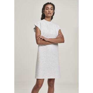 Vestido extendido de rizo para mujer Urban Classic