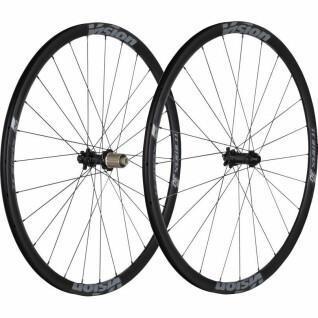 Ruedas de disco con neumáticos Vision Trimax 30s center lock sh11 v19