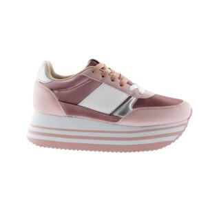 Zapatos de mujer Victoria cometa doble metalizado